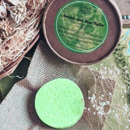 Laviche - Avocado and Shea Butter Shampoo Bar (100gm)