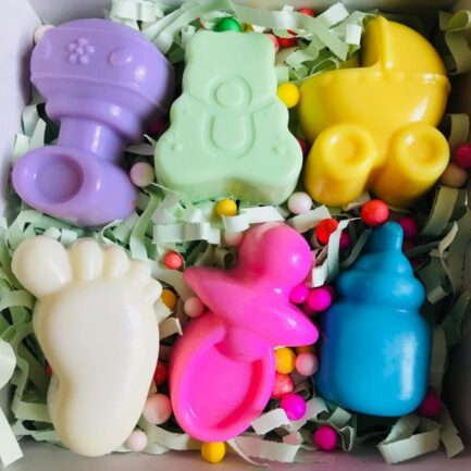 Laviche - Baby Shower Soap Box (Pack of 6)