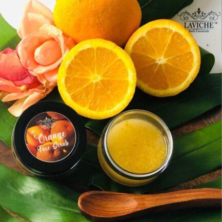 Laviche - Orange Face Scrub (50gm)