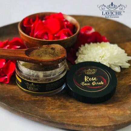 Laviche - Rose Face Scrub (50gm)