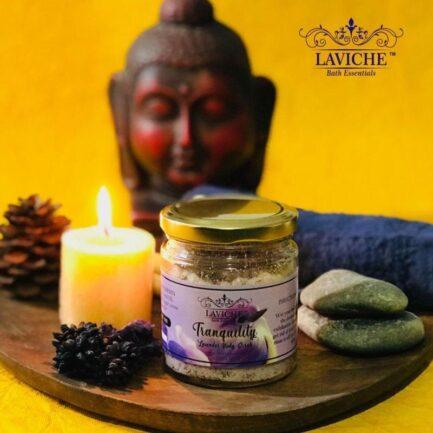 Laviche - Tranquility Lavender Body Scrub (100gm)