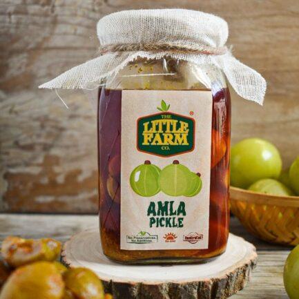 Little Farm Amla Pickle (400gm)