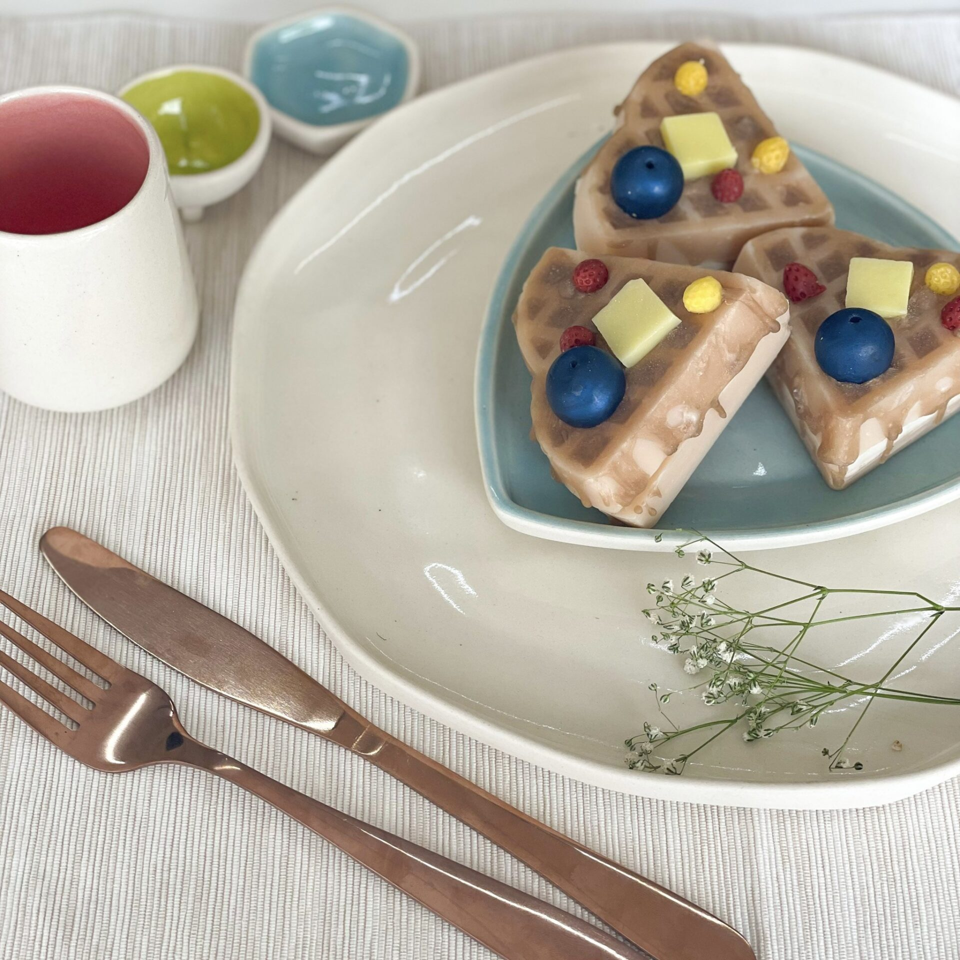 Berry Maple Syrup Waffle Soap (116gm)