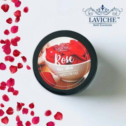 Laviche - Rose Face Mask (50gm)