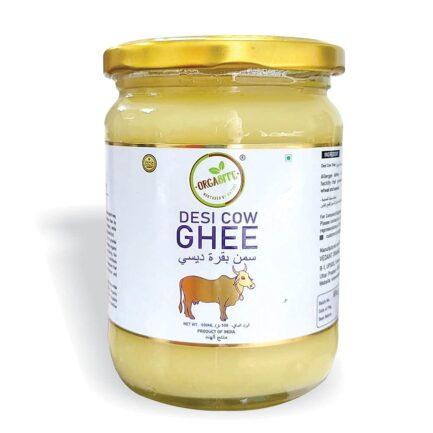 ORGABITE Organic Desi Cow Ghee (500ml)